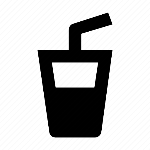drink, juice, straw, summer drink icon