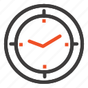 compass, machine, time, timer icon