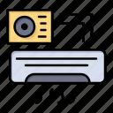 ac, air, aircondition, room icon