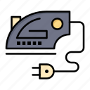 electric, home, iron, machine icon