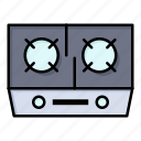 cooking, gas, kitchen, stove icon
