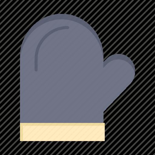 glouve, gloves, kitchen, oven, potholder icon