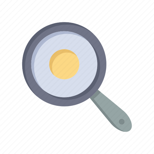 frying, griddle, kitchen, pan icon