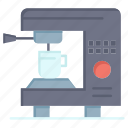 coffee, electric, home, machine icon