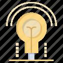 bulb, hotel, idea, light icon