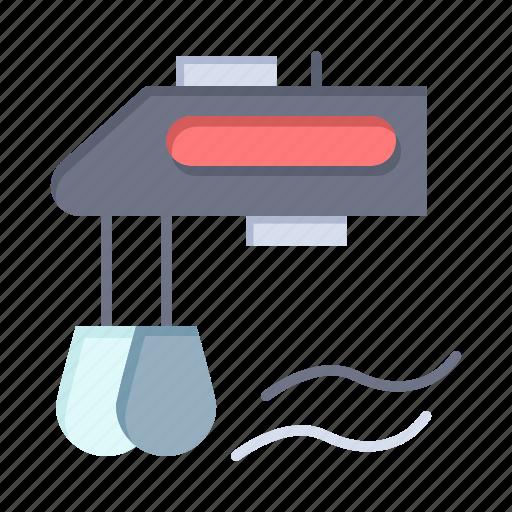 blender, kitchen, manual, mixer icon