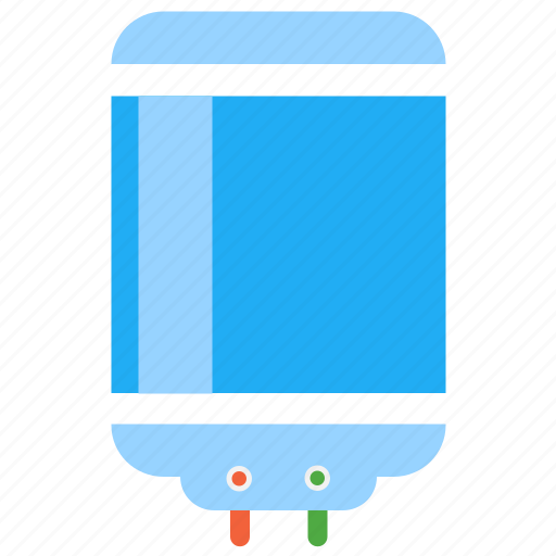 appliance, electrical, gyser, heater, water icon