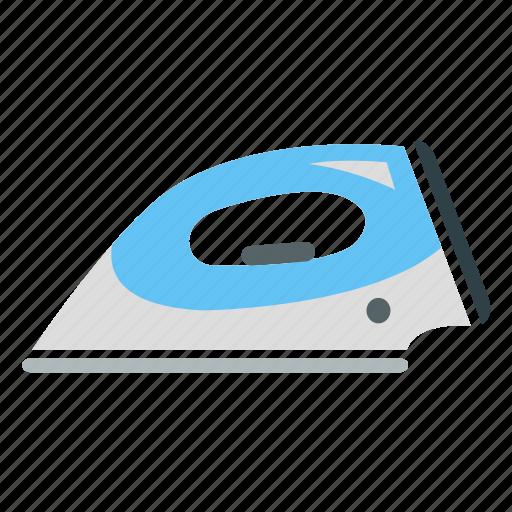 appliance, cloth, electrical, iron, press icon