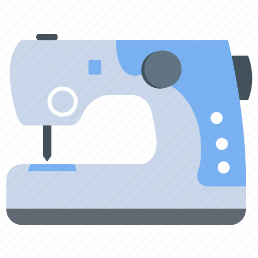 appliance, cloth, electrical, machine, sewing icon
