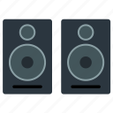 appliance, electrical, music, sound, speaker, sub woofer, theater icon