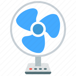 air, appliance, cool, electrical, fan, table icon