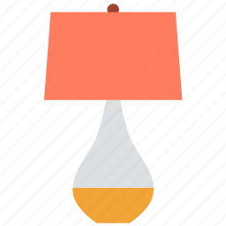 appliance, electrical, lamp, light, room, table icon