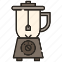 blender, equipment, juice, kitchen, mixer icon