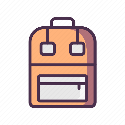 backpack, home, livingroom, outing icon
