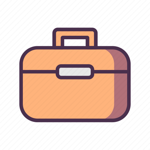 briefcase, home, livingroom icon