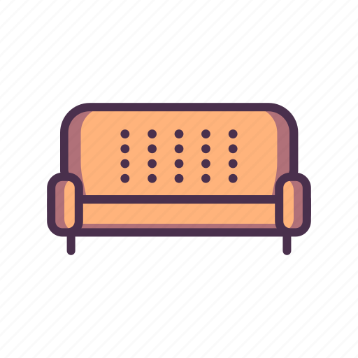 couch, home, livingroom icon
