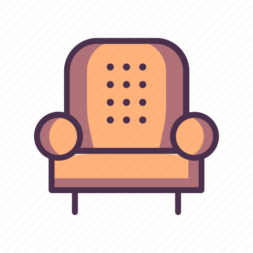 chair, home, livingroom, salon icon