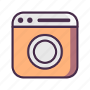 home, kitchen, machine, washing icon