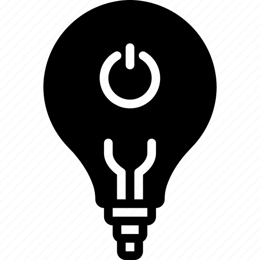automation, bms, bulb, home, light, lightbulb, off icon