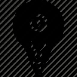 automation, bulb, home, light, lightbulb, on icon