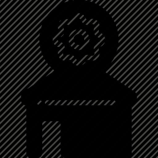 automation, bms, home, security, setup icon