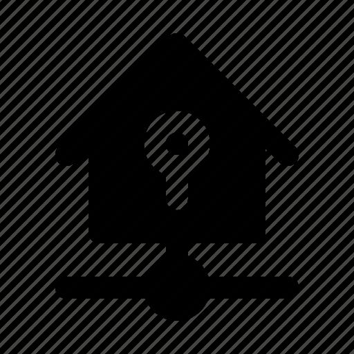 devices, home, key, kit, lock, smarthome, technology icon