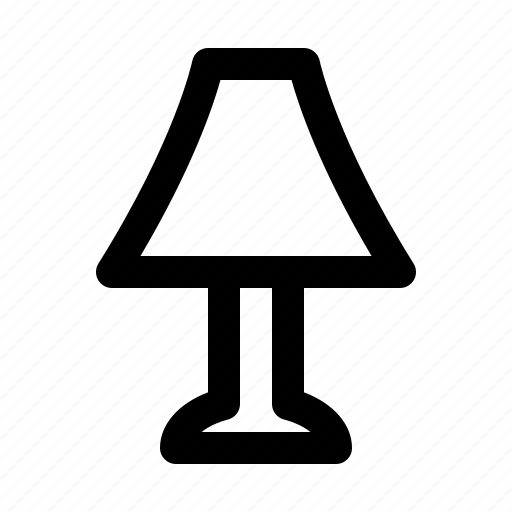 automation, big, data, devices, equipment, lamp, technology icon