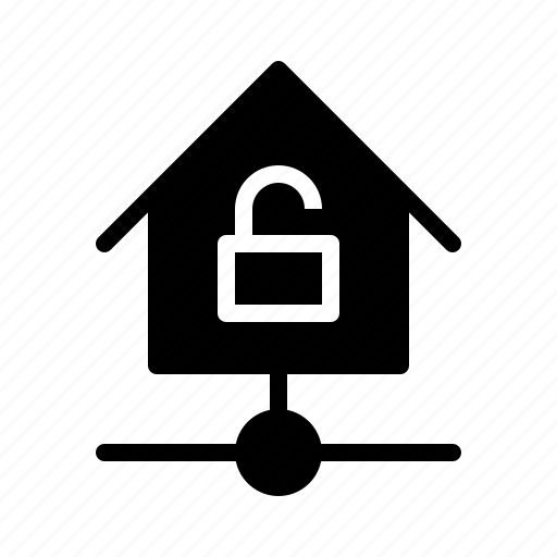 devices, equipment, home, kit, smarthome, technology, unlocked icon