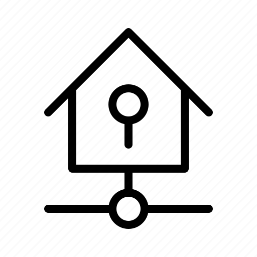 devices, home, key, kit, lock, smarthome, technology icon