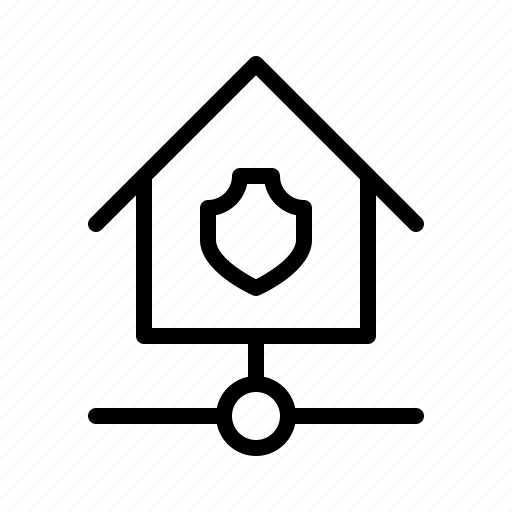 devices, home, kit, protect, shield, smarthome, technology icon