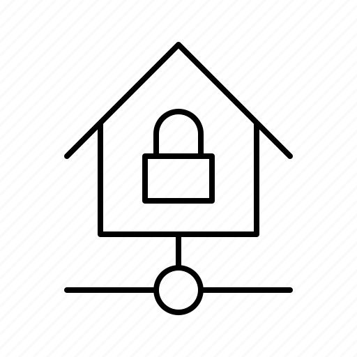 devices, home, kit, locked, smarthome, technology icon