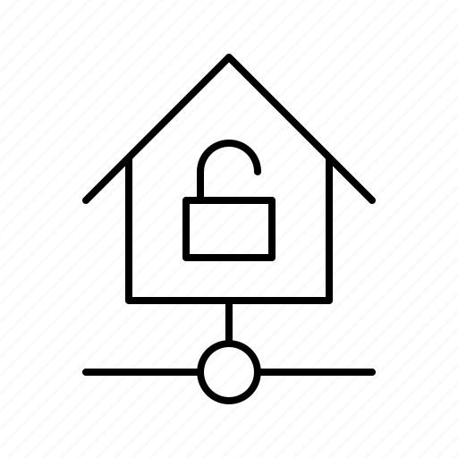 devices, home, kit, smarthome, technology, unlocked icon
