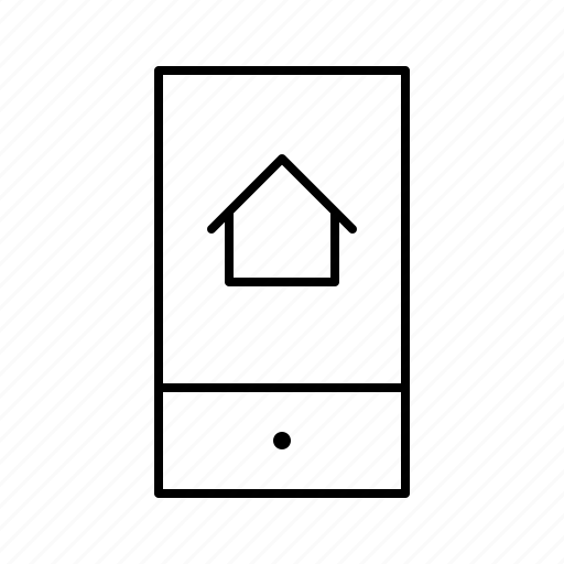 automation, big, devices, equipment, smarthome, smartphone, technology icon