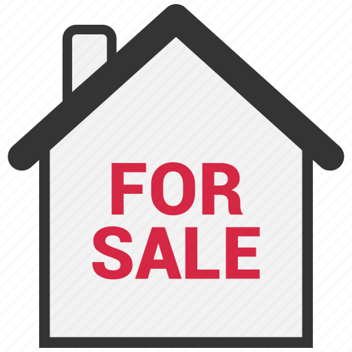 estate, for, home, house, real, sale icon