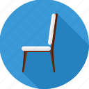armchair, chair, furniture, interior, office, seat icon