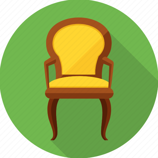 armchair, chair, furniture, households, interior, seat icon