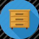 drawer, drawers, storage, cabinet, furniture, home