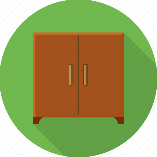 almirah, cabinet, cupboard, furniture, home, households, office icon