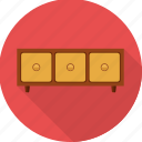 cabinet, closet, cupboard, furniture, interior, storage icon