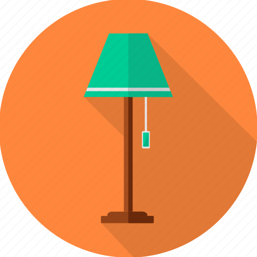 bulb, electricity, furniture, lamp, light, lighting, table lamp icon