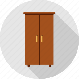 almirah, cabinet, closet, cupboard, drawers, furniture, wardrobe icon