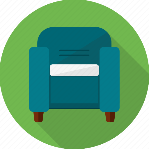 armchair, chair, couch, furniture, home, seat, sofa icon