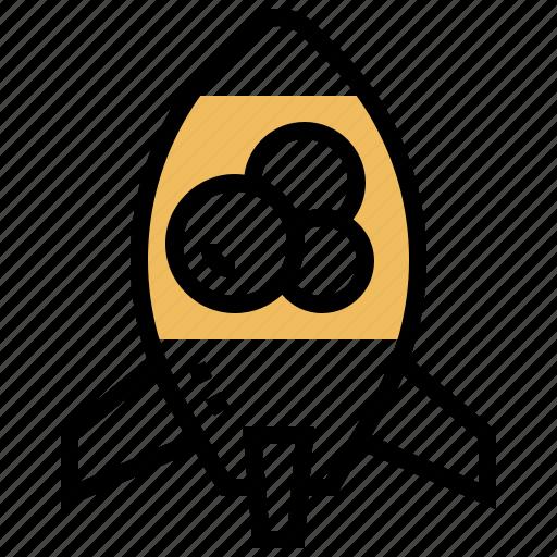Bubble, lamp, lava, retro, rocket icon - Download on Iconfinder