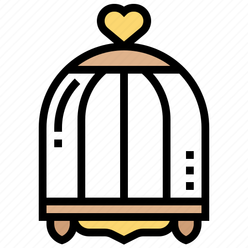 Bird, cage, captive, ornament, pet icon - Download on Iconfinder