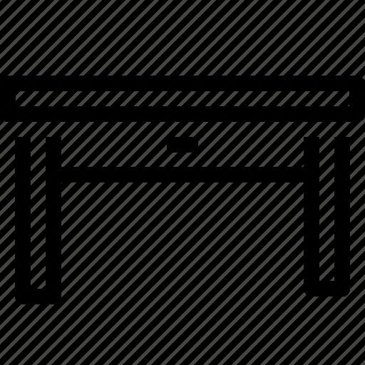 decor, furniture, interior, table icon
