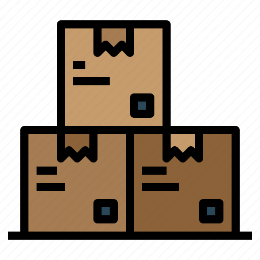 and, box, data, delivery, file, shipping, storage icon