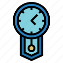 and, circular, clock, clocks, date, time, wall icon