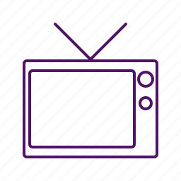 display, monitor, screen, television, tv, tv icon icon