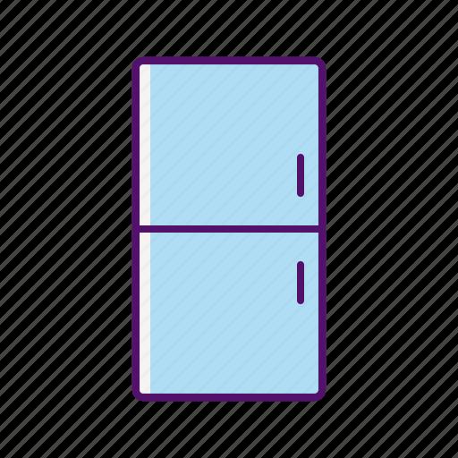 Freezer, fridge, icebox, kitchen, refrigerator, refrigerator icon icon - Download on Iconfinder