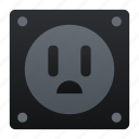 electricity, electronic, plugs icon